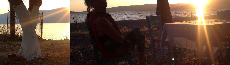 Griechenland Malreise und kreative Kunstkurse auf die Sonneninsel. hier wird gemalt und gezeichnet, am Strand oder auf unseren Malausflügen.