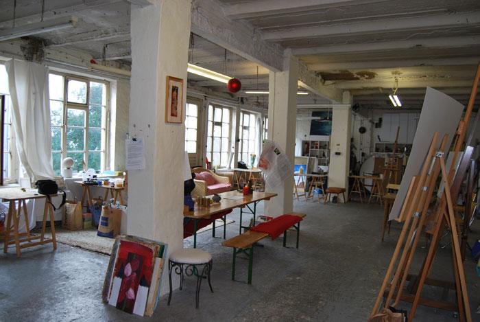 Malworkshop Atelierloft Annette Brasch Hamburg