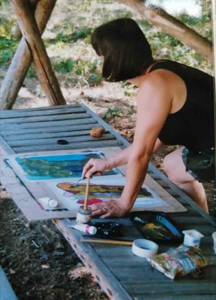 Malreise zum Plauer See mit brasch-kunstkurse