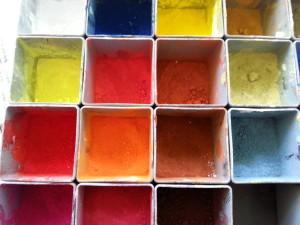Malkurs mit Pigmenten Hamburg