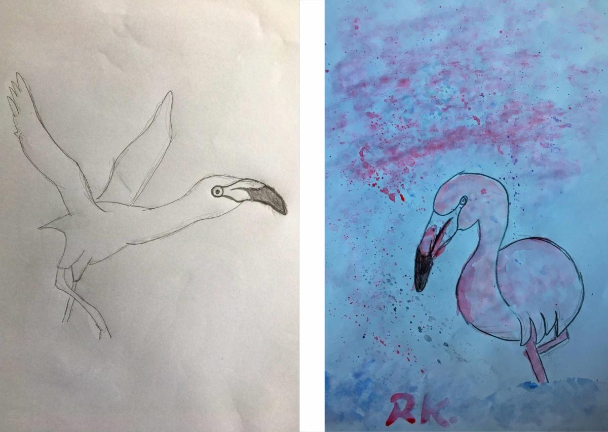 Kinderzeichnen bei Brasch-Kunstkurse in hamburg