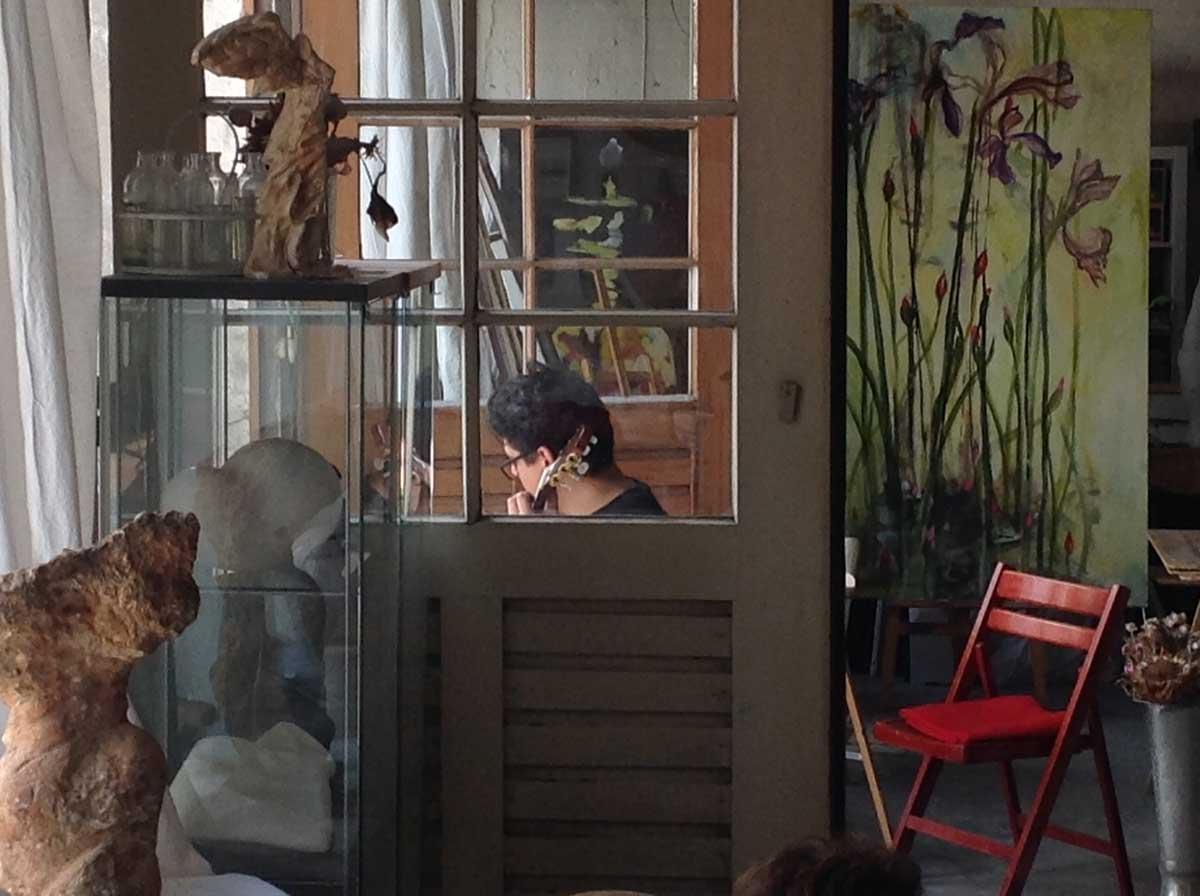 Die Kunstschule Hamburg Annette Brasch zeigt Originale der Künstlerin und ein Angebot an Kunstkursen und Zeichenkursen.