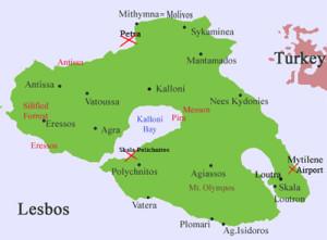 Malreise Lesbos