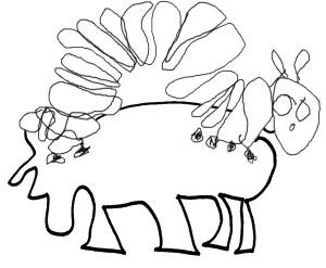 Einfache Strichzeichnungen andernfalls klassische Maltechniken werden in den Kunstkursen von Kindern bevorzugt.